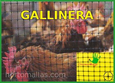 Malla Gallinera pollera