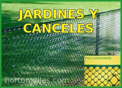 Malla para jardines y canceles