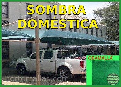 Sombra Domestica para automoviles, jardines,domos o patios