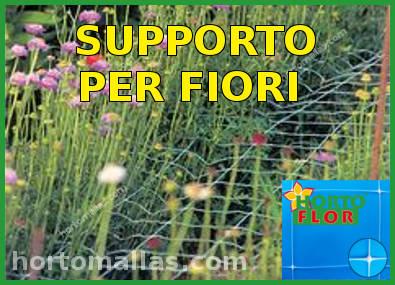Rete per il supporto di fiori