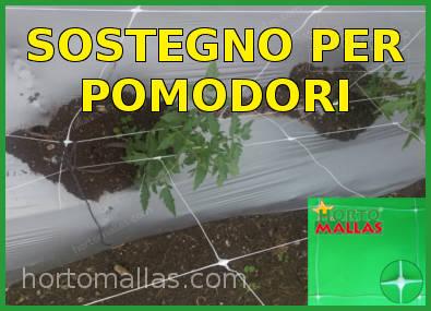 Rete per il sostegno dei pomodori
