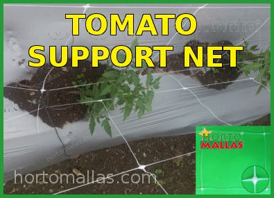 support netting for tomatoes stakes cages