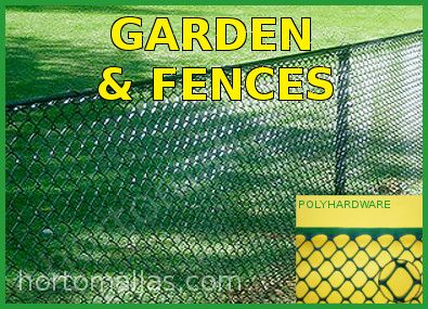 poly-hardware netting garden deer fence