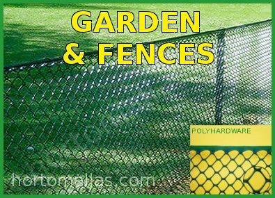 poly-hardware netting garden deer fence