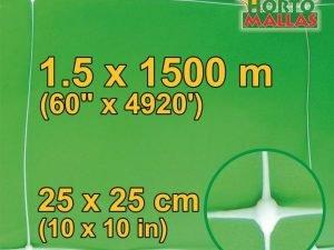 hm square 25x25cm 1.5×1500m