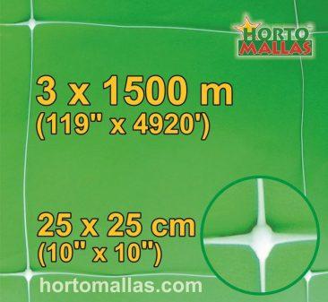hm square 25x25cm 3×1500m
