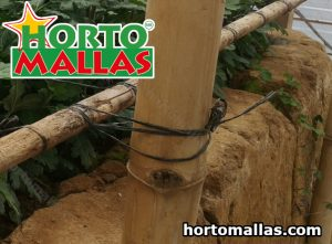Agricultural raffia and stakes