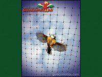 GUACAMALLAS bird and bat protection netting for crops