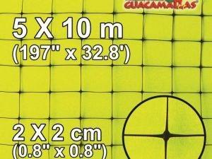 gm Square 2x2cm 5×10 meters