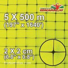 gm Square 2x2cm 5x500 meters