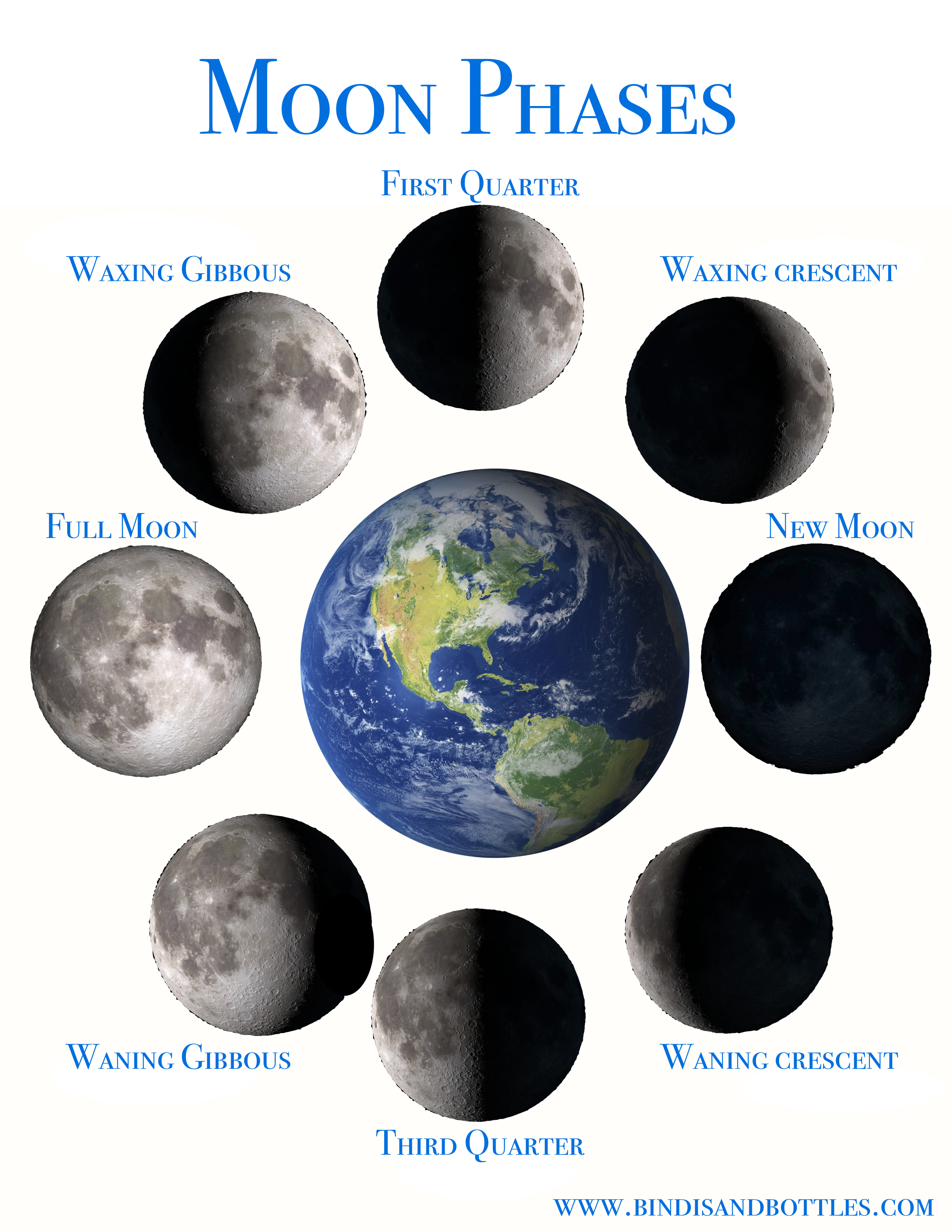 The moon phases and the tutoring of vegetables.