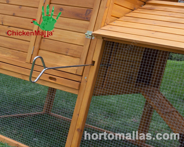 La malla pajarera es la solución adecuada para reducir daños causados por las aves.