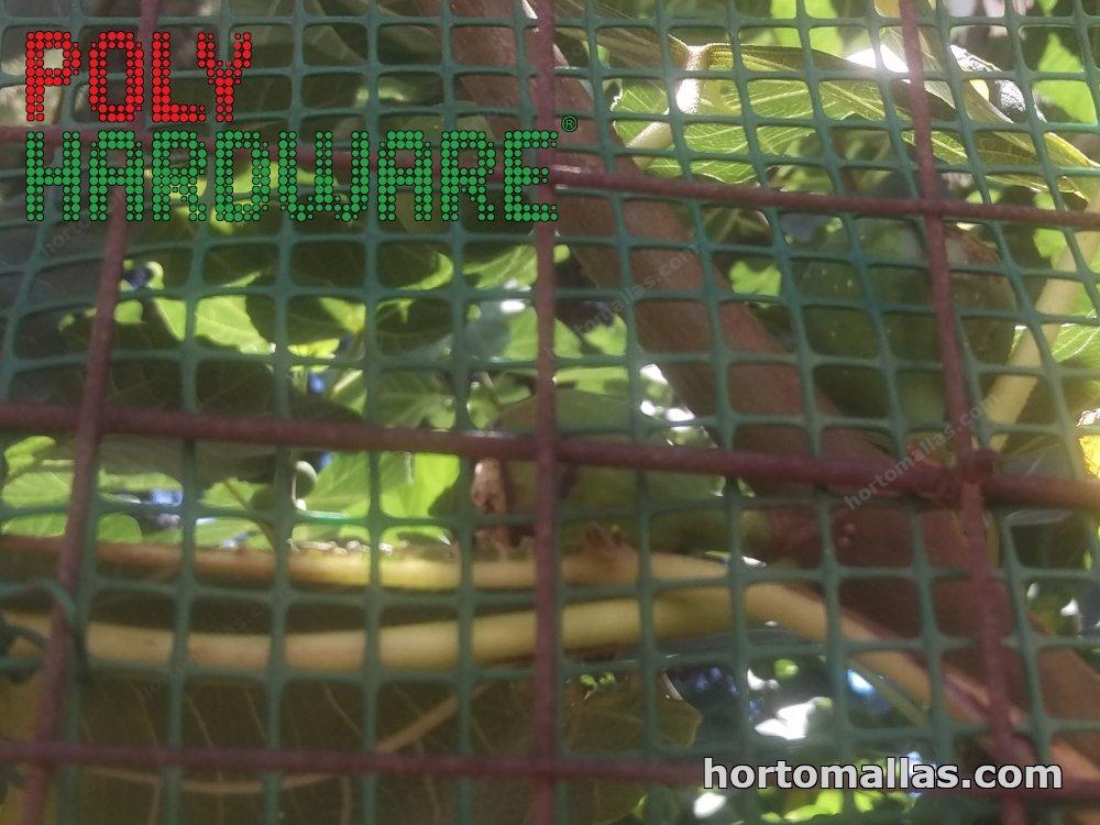 Malla PORTAROSA y CHICKENMALLA. Protección para Jardines, Patios y Cocheras.
