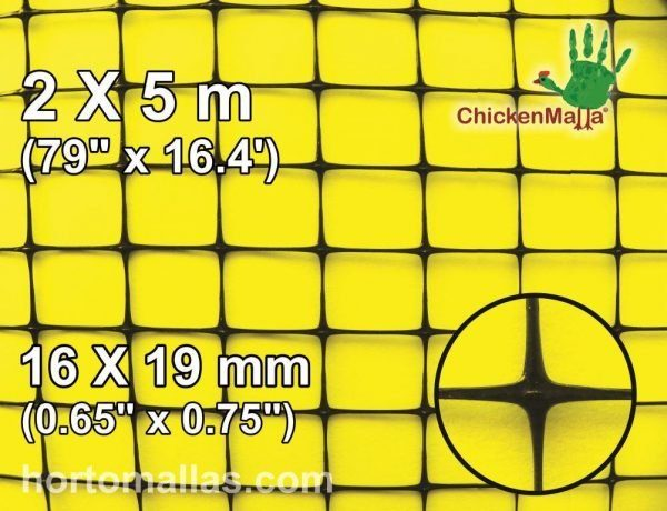 cm square 16x19mm 2x5m