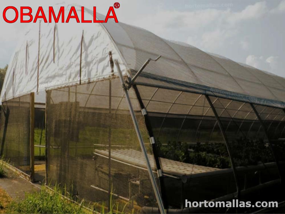 Las ventajas de construir una casa sombra con OBAMALLA en lugar de un invernadero.