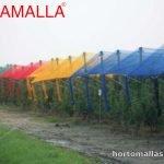 malla obamalla de colores para cultivos