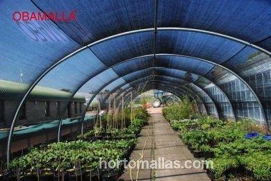 Malla sombra raschel OBAMALLA proteges tus cultivos de los excesos de rayos solares