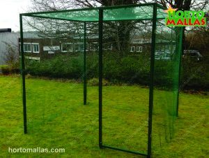 Steel crop cage