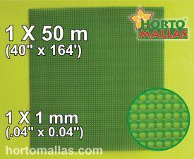 ph square 1x1mm 1x50m