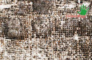 Oxidación y deterioro de la malla pollera y para enjarre metálica.