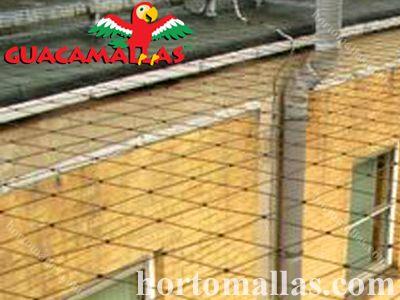 Impeça o acesso a seus pátios/quintais com a proteção da malha/rede GUACAMALLAS.