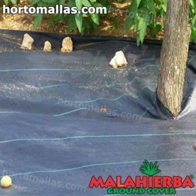 weed mulch used in garden crops