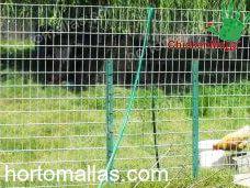 barrera malla gallinera