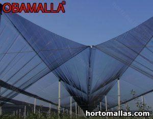 estructura con malla sombra