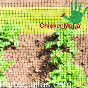 tela gallinera como protección de animales pequeños