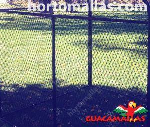 guacamallas instalada en exterior