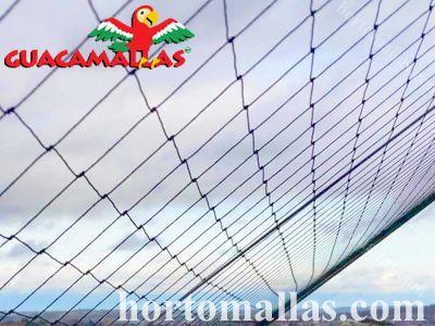 A malha/rede plástica GUACAMALLAS® é fácil de instalar em qualquer superfície.