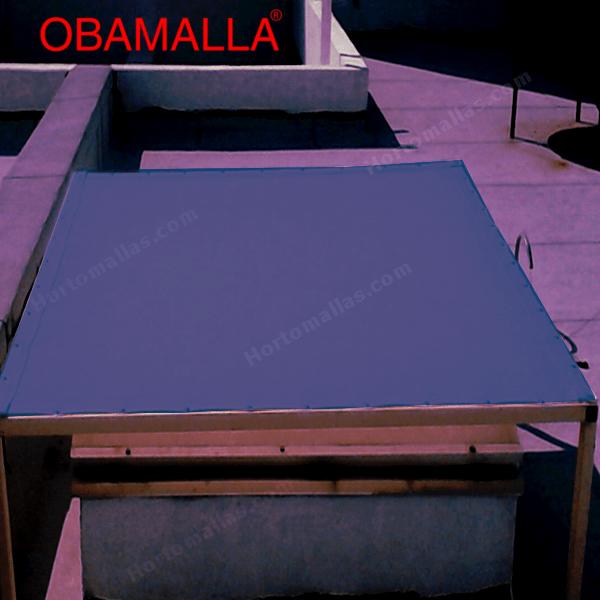 La malla tejida para domos OBAMALLA® viene en varios colores para darle la mejor estética a colegios, centros comerciales, hoteles y restaurantes con el uso de las tenso-estructuras.