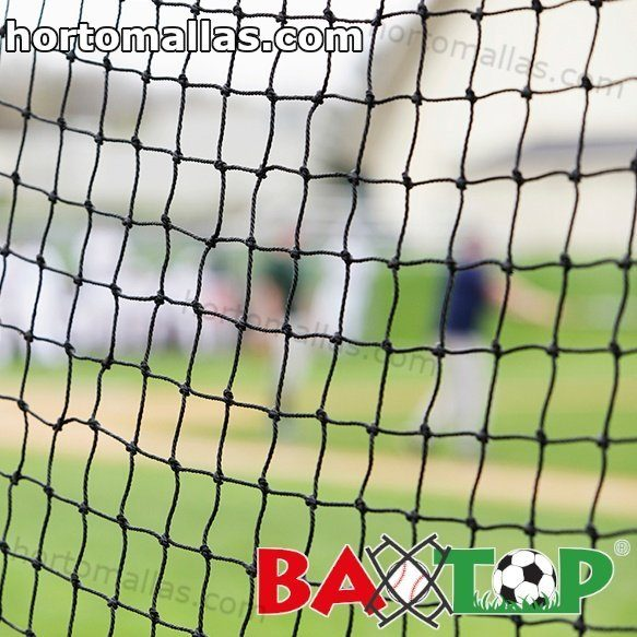 Backstop netting: security fences for golf, football