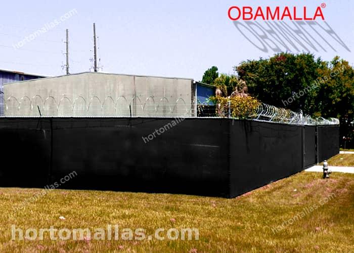 malla sombra para privacidad instalada para proteccion