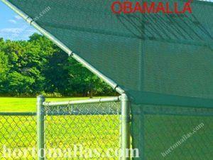 shade and privacy netting in sport fields