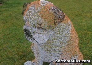 chicken wire bull dog