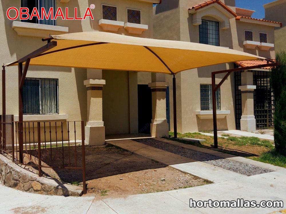 Malla sombra OBAMALLA® es fácil de instalar.