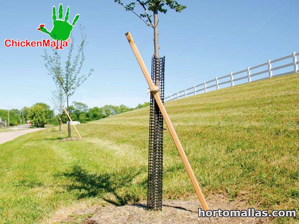 CHICKENMALLA® en el uso forestal