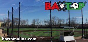 campo de béisbol con baxtop