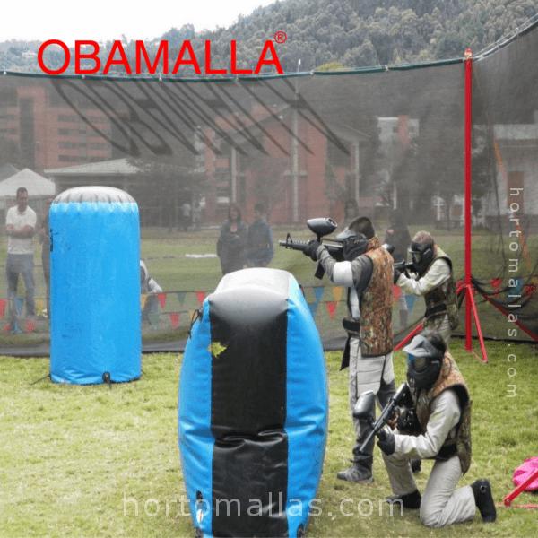 malla sombra OBAMALLA® es muy ligera, resistente y fácil de instalar.