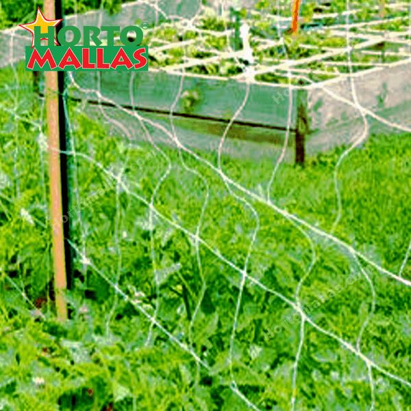 Las mallas espalderas son resistentes a los agentes atmosféricos.