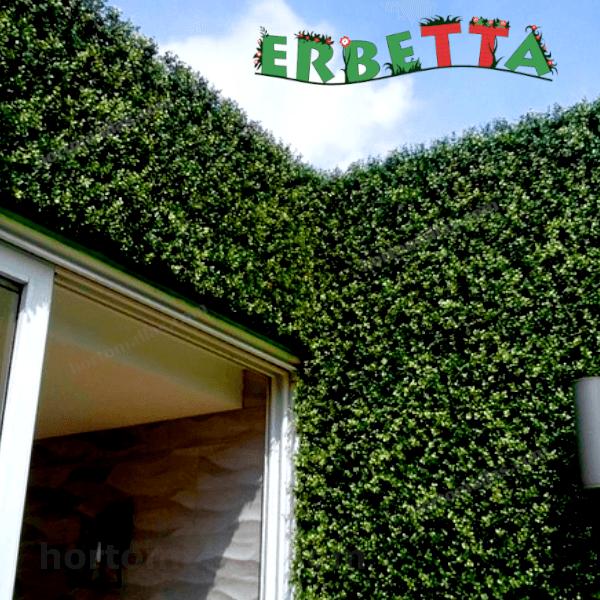 Folhagem artificial para muros/paredes e tetos verdes