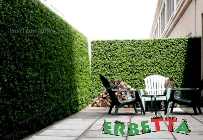muros verdes ERBETTA interiores.