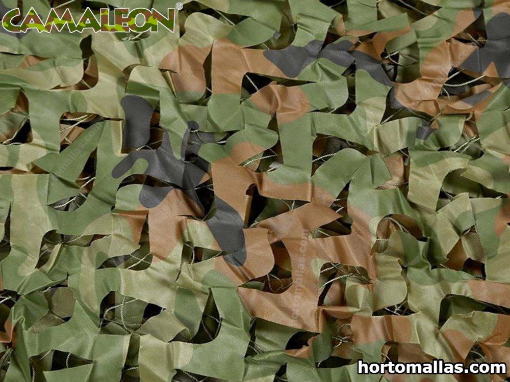 Malla de camuflaje militar- camuflaje en campos de gotcha y paintball.