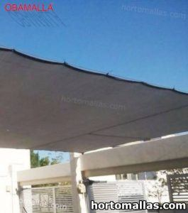 home installed shade net
