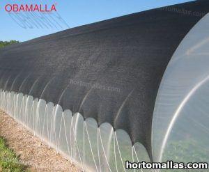 macro túnel cubierto con malla sombra