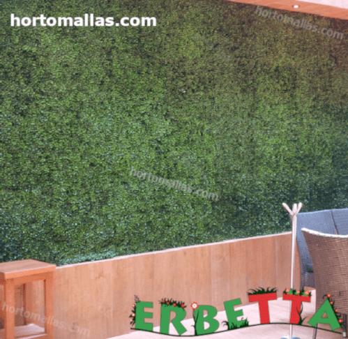jardín vertical instalada en restaurante.