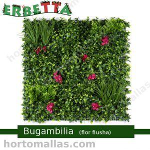erbetta bugambilia flor fiusha boscaje decorativo artificial