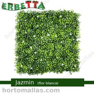 erbetta jazmin flor blanca jardin vertical sintéctico