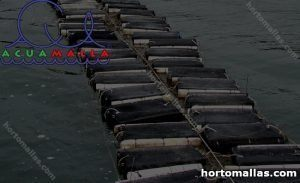 Jaulas flotantes para peces